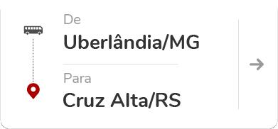 Uberlândia (MG) - Cruz Alta (RS)