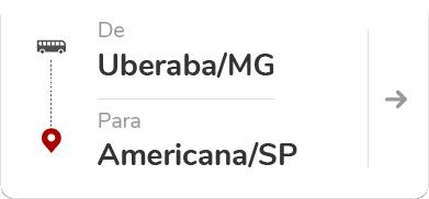 Uberaba MG - Americana SP