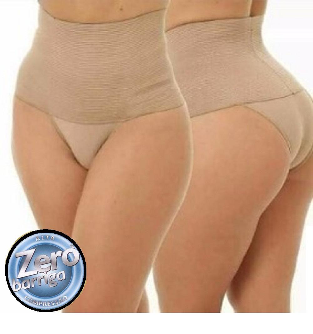 559af74cf Cinta calcinha seca barriga modeladora redutora compressão Zero Barriga  Alta Qualidade
