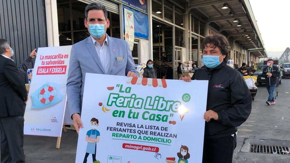 Agricultura presentó listado de ferias que entregará a domicilio/Titulares de Noticias de Chile