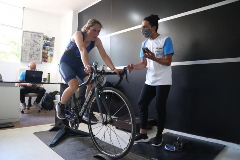 Horario completo del ciclista San Juan Majo Quiroga en Buenos Aires/ Titulares de San Luis