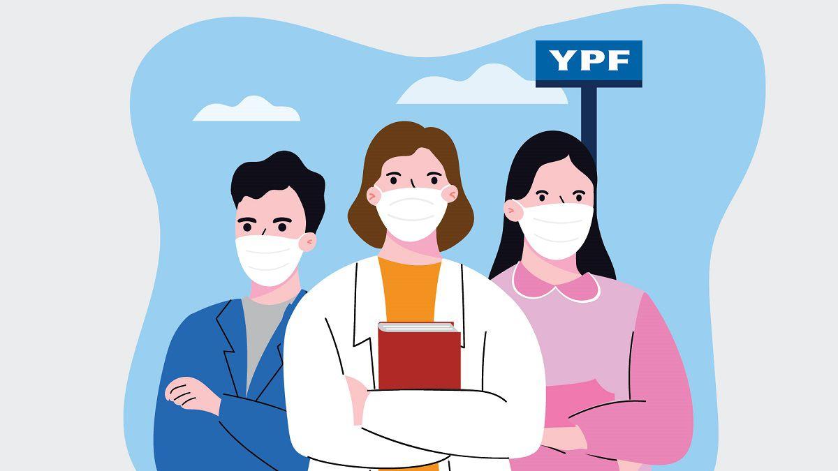 YPF acompaña a trabajadores de la educación de regreso a la escuela/Titulares de Economía