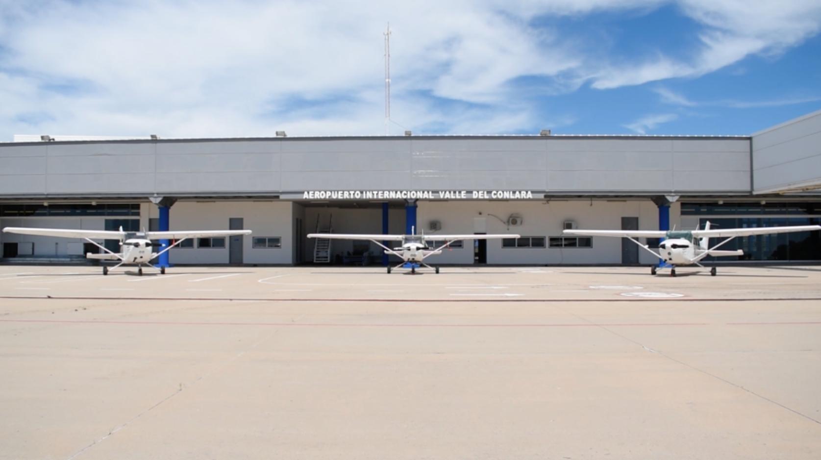 El Centro de Instrucción de Vuelo de Conlara Valley será internacional/ Titulares de San Luis