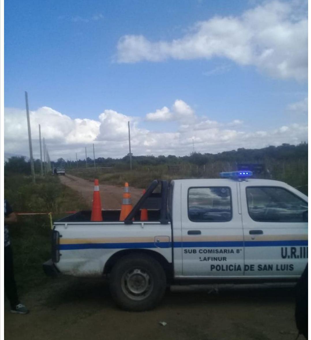 Cortaderas: se encontró un cuerpo en un rastrillo/ Titulares de San Luis