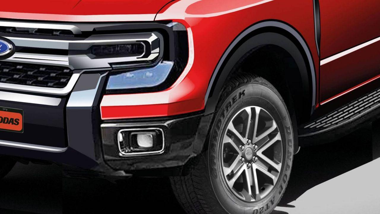 Ford prueba la nueva generación de Ranger Wildtrack/Titulares de Autos
