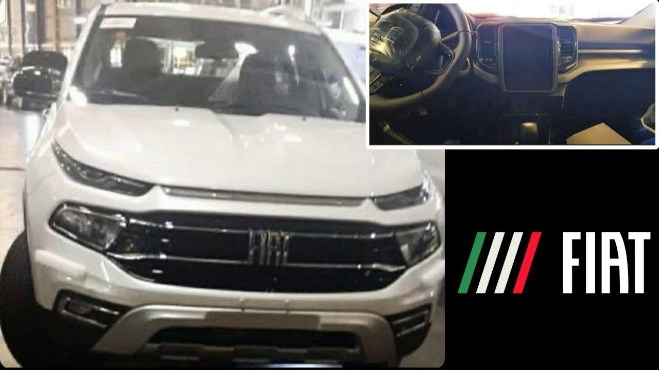 Se filtra una nueva imagen del interior del Fiat Toro 2021/Titulares de Autos