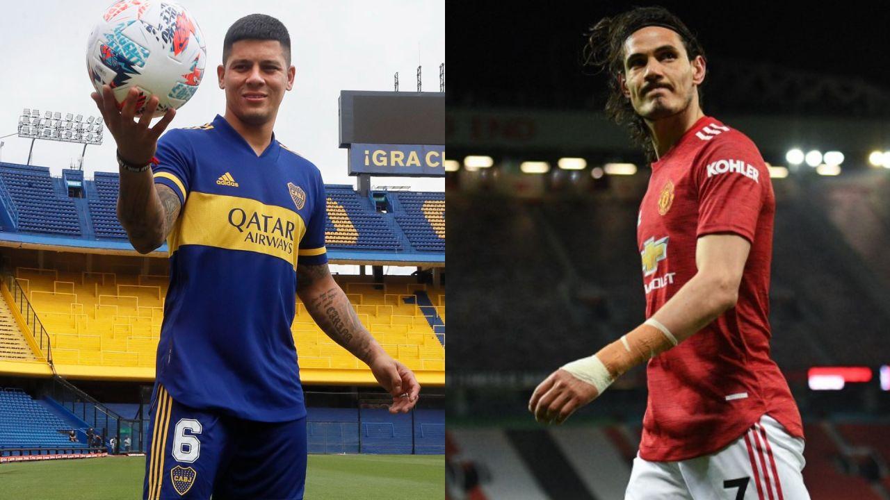 Rojo le abrió la puerta a Cavani e intentó unirse a Boca: «Prometí llevarte a pescar»/Titulares de Deportes