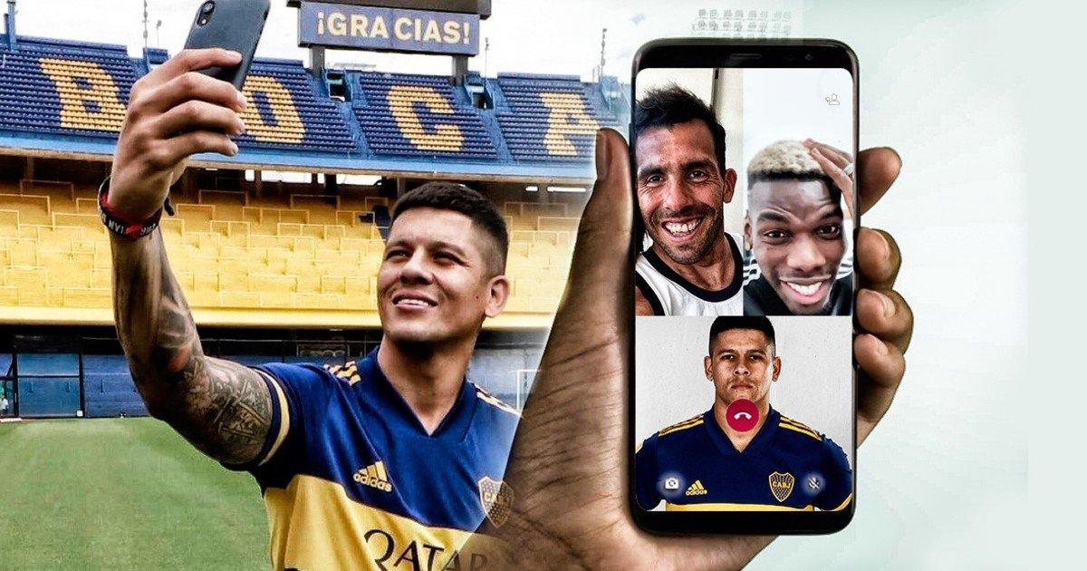 Rojo y las videollamadas con Pogba y Tevez /Titulares de Deportes