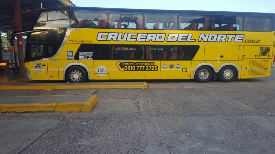 Negaron un autobús de la empresa para brindar un servicio no autorizado/ Titulares de Corrientes