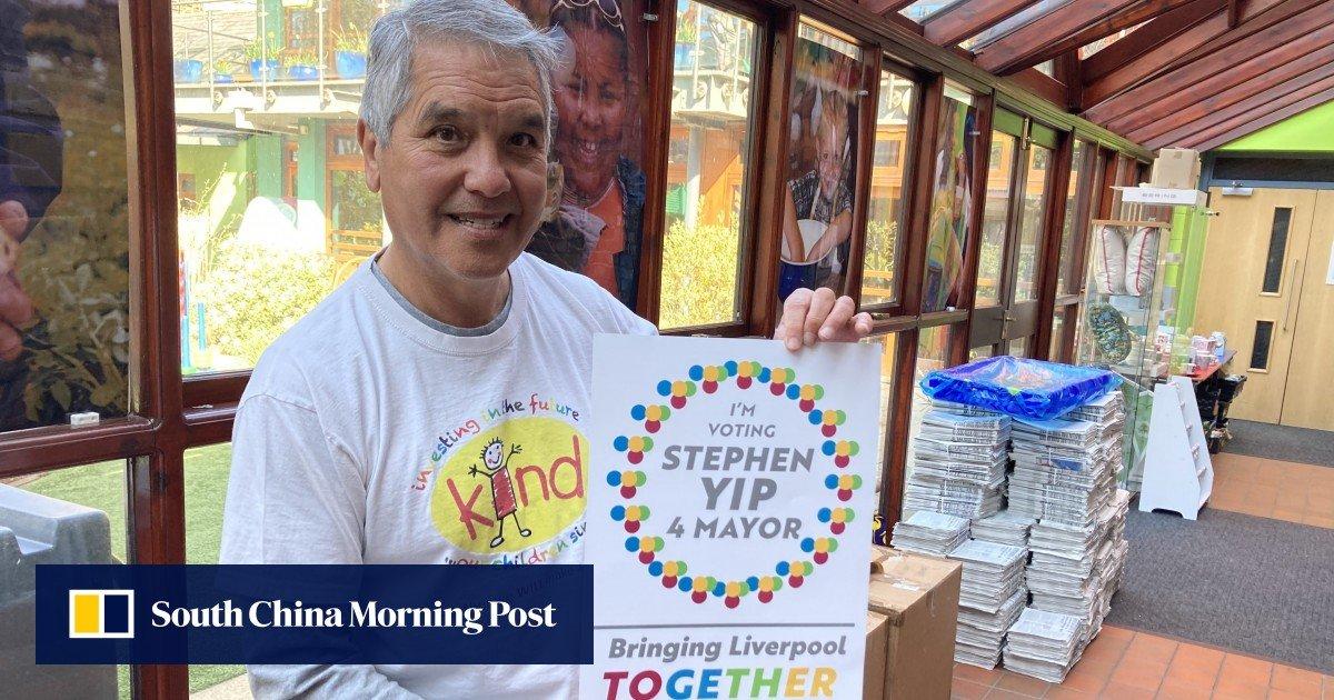 ¿Puede Stephen Yip, hijo de un marinero chino de Guangzhou, convertirse en el primer alcalde independiente de Liverpool? / Titulares de Noticias de China