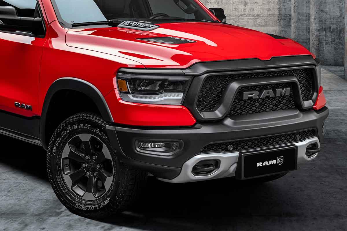 La camioneta pickup Ram mediana con monobloque ya tiene prototipos en Brasil /Titulares de Noticias de Brasil
