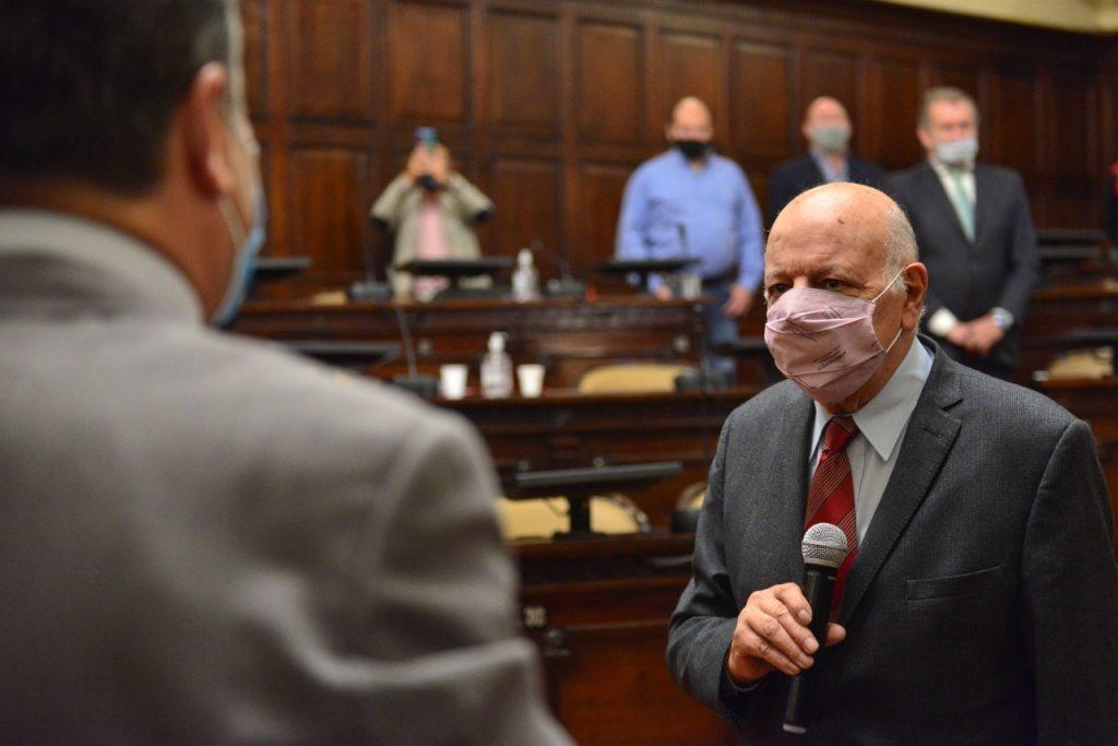 Zalif fue reelegido como presidente provincial del Senado/ Titulares de Mendoza