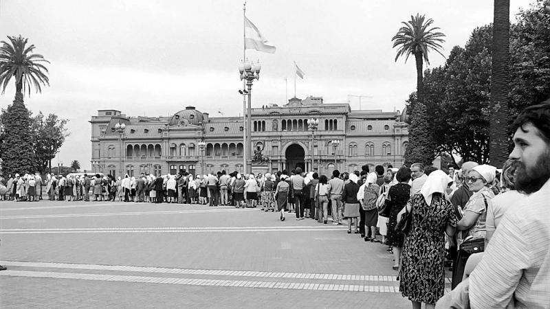 Madres de Plaza de Mayo cumplieron 44 años y Bonafini reivindicó su decisión de «ser kirchneristas» – Titulares de Política
