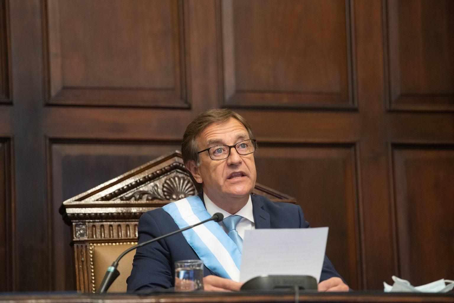 Suárez inaugura hoy asamblea legislativa/ Titulares de Mendoza
