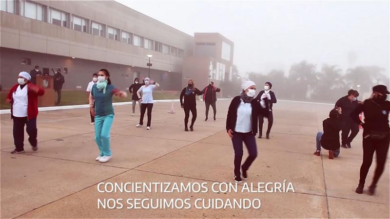 Periódico El Sol |  Integrantes del operativo de vacunación también se sumaron al Reto Jerusalén/ Titulares de Concordia