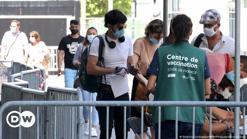 Prisa por las citas de vacunación en Francia |  Actualmente Europa |  Titulares