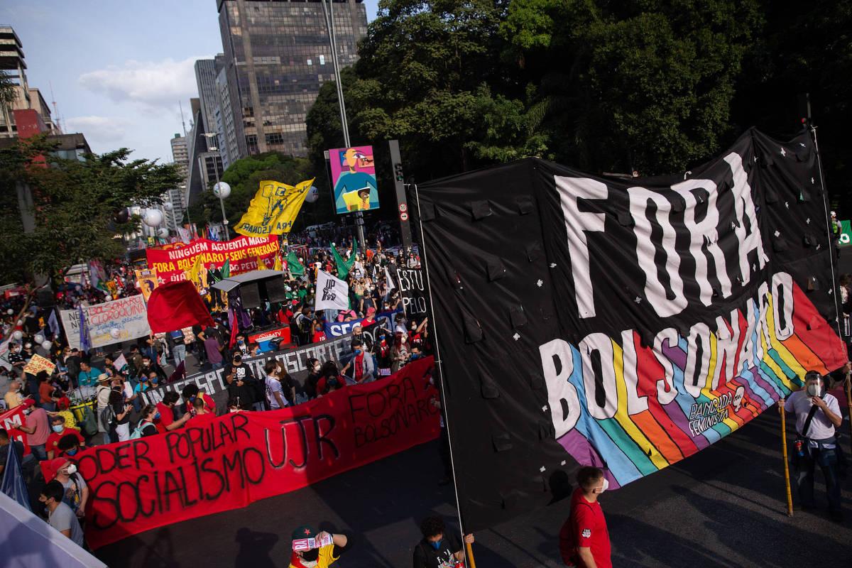Centrales sindicales y partidos convocan protestas contra Bolsonaro este sábado – 21/07/2021 – Mônica Bergamo / Brasil