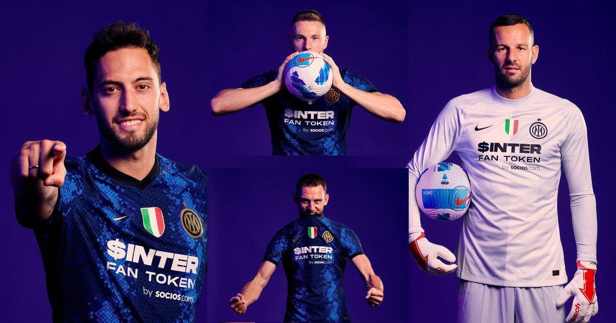 El Inter presentó su camiseta con un nuevo sponsor luego de 26 años /Titulares de Deportes