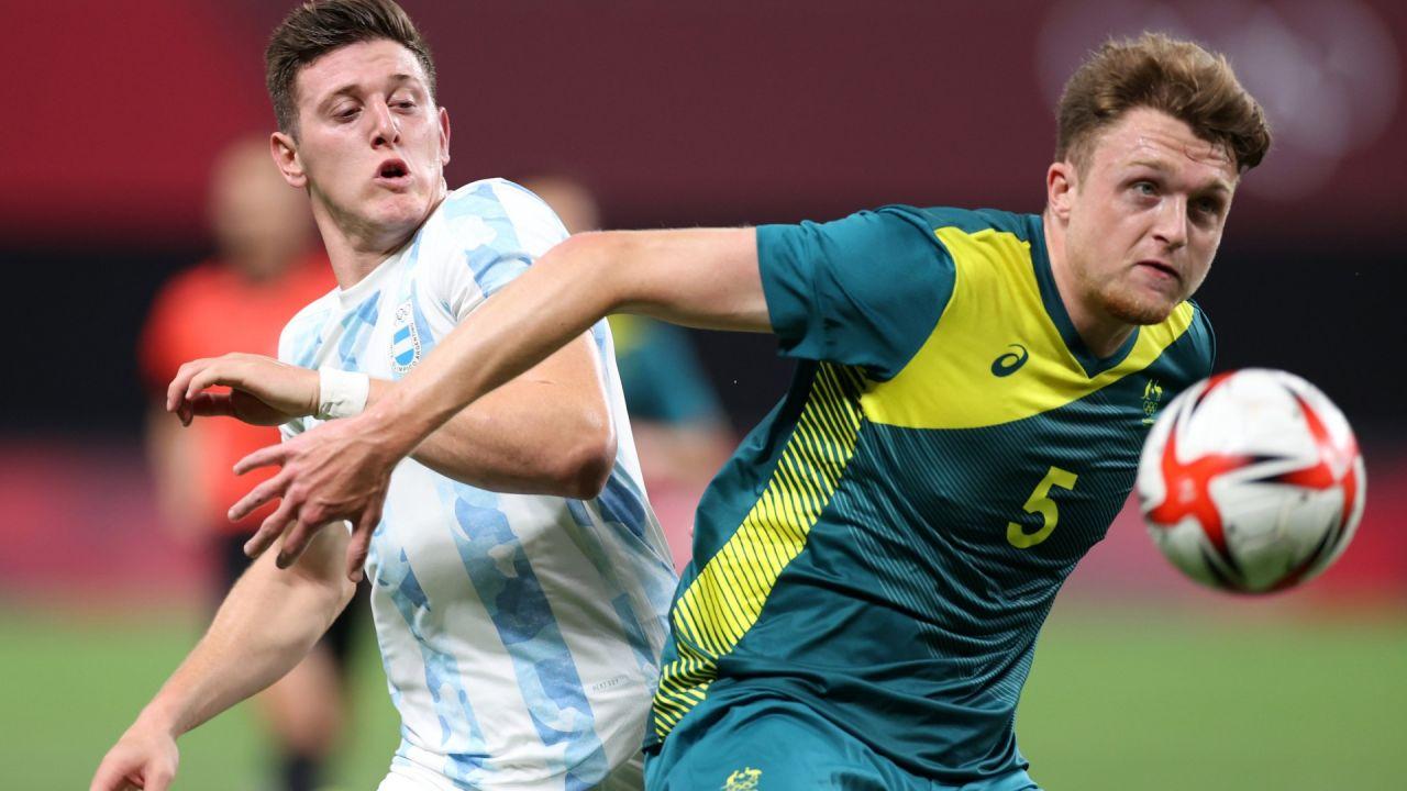 Juegos Olímpicos de Tokio: la selección nacional arrancó con el pie izquierdo ante Australia/ Titulares de Deportes