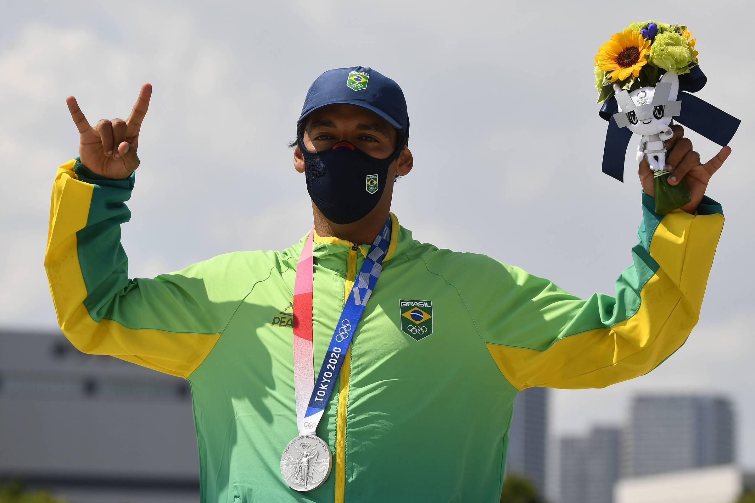 Esposa, Pamela y las redes sociales llevan a Kelvin a la plata en skate en los Juegos Olímpicos – 25/07/2021 – Sport / Brasil