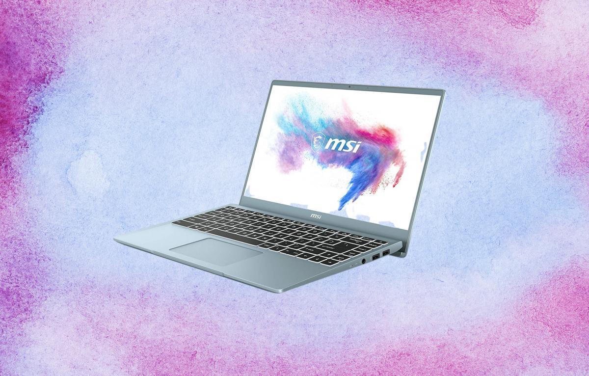 Este portátil MSI es fino y ligero, tiene 512 GB de SSD   Tecnología