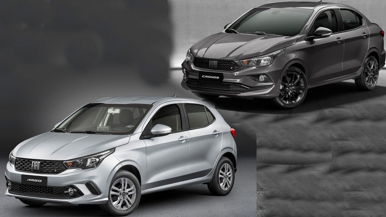 Fiat Argo y Cronos 1.3 vienen con caja CVT automática/ Titulares de Autos