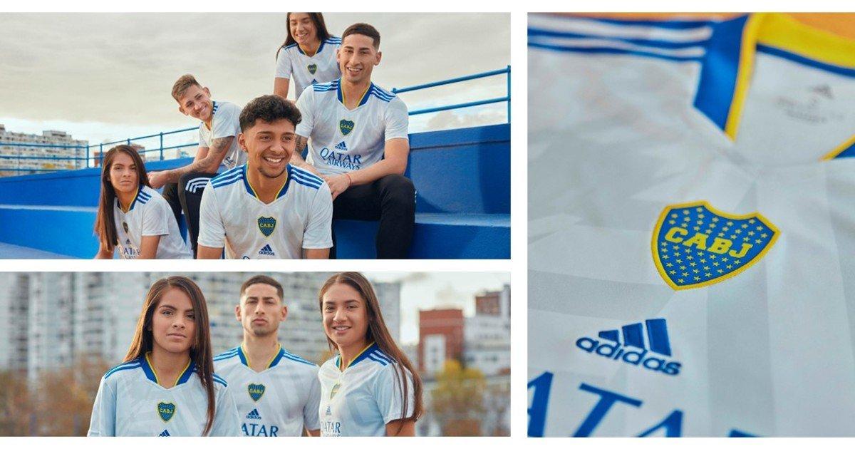 Así es la nueva camiseta suplente de Boca /Titulares de Deportes
