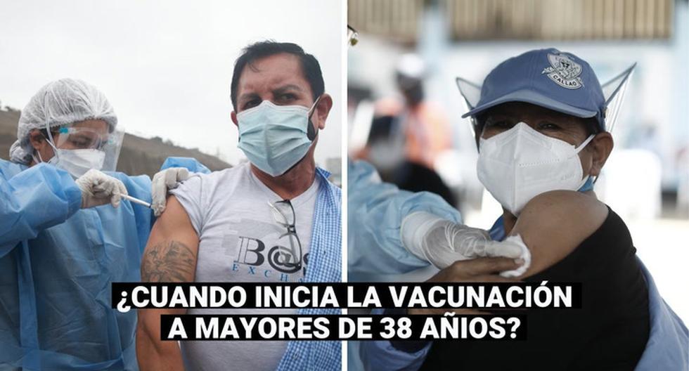 HOY viernes 6 de agosto inicia la vacunación de personas mayores de 38 años en Lima y Callao   Ministerio de Salud Vacun… – Perú