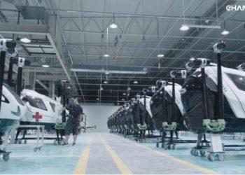 La primera fábrica de coches voladores autónomos en serie del mundo | Motor