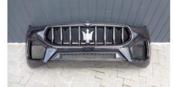 Una filtración revela piezas clave y detalles del nuevo Maserati Grecale 2022