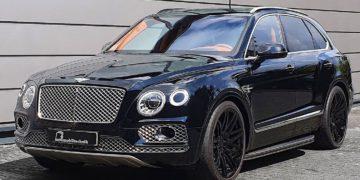 B&B Bentley Bentayga, el SUV británico se transforma en un misil de lujo