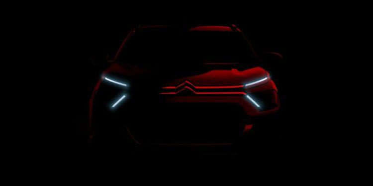 El nuevo Citron C3.  primera imagen teaser oficial de/ Titulares de Autos