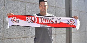 El llamativo número de camiseta de Radamel Falcao en Rayo Vallecano /Titulares de Deportes