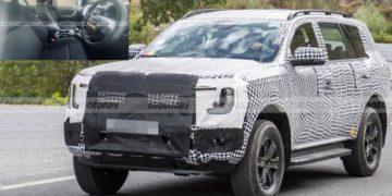 Nuevas imágenes del interior del Ford Everest primero, ¿el mismo Ranger?/ Titulares de Autos