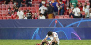 SEVILLA Delaney debutó como si llevara toda la vida en Nervión / Futbol de España