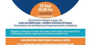 Subsecretario de Personas con Discapacidad del Municipio de La Matanza/ Titulares de La Matanza
