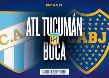 Atlético Tucumán – Boca: hora, formaciones y TV /Titulares de Deportes