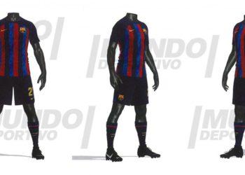 El diseño exacto de la primera camiseta del Barça 2022-23 – España