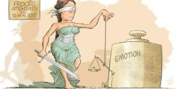 Caricaturistas marcan el inicio del juicio por atentados en París /Titulares de Noticias de Francia