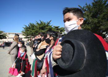 Residentes chilenos recordaron con un acto su fiesta patria/ Titulares de La atagonia