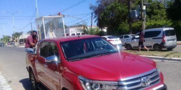 Capital: El guión de la caravana del joven peregrino cambió esta tarde/ Titulares de Corrientes