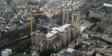 La catedral de Notre-Dame está lista para su restauración después de que se completó el trabajo de seguridad posterior al incendio /Titulares de Noticias de Francia