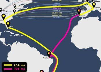 Nuevo enlace de Internet submarino acelerará la cooperación científica entre Brasil y Europa – 18/09/2021 – Ciencia / Brasil