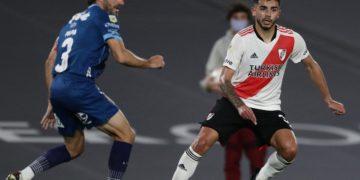 Simón de lateral: prueba superada en River /Titulares de Deportes