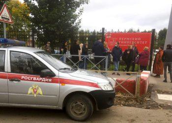 Ocho muertos en un tiroteo en una universidad rusa