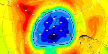 Agujero en la capa de ozono sobre el Polo Sur ya supera el tamaño de la Antártida – 20/09/2021 – Medio Ambiente / Brasil