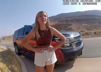 Llamada al 911 revela que vieron a Brian Laundrie golpeando y abofeteando a Gabby Petito días antes de su desaparición
