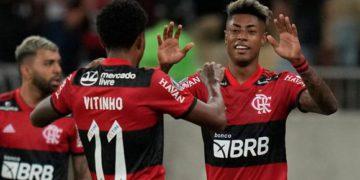 Flamengo superó al Barcelona y ganó la primera semifinal de la Copa Libertadores/ Titulares de Mendoza
