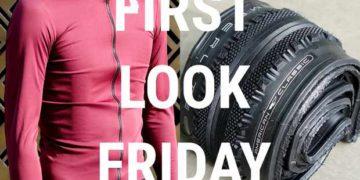 Un nuevo neumático para grava de American Classic, la chaqueta ligera Fiandre de Sportful, los guantes de invierno Assos y la barra y el zapato Bontrager / Titulares de Bicicletas