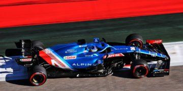 GP Rusia – Alonso, «contento» con un Alpine A521 que «parece ir bien» en Sochi